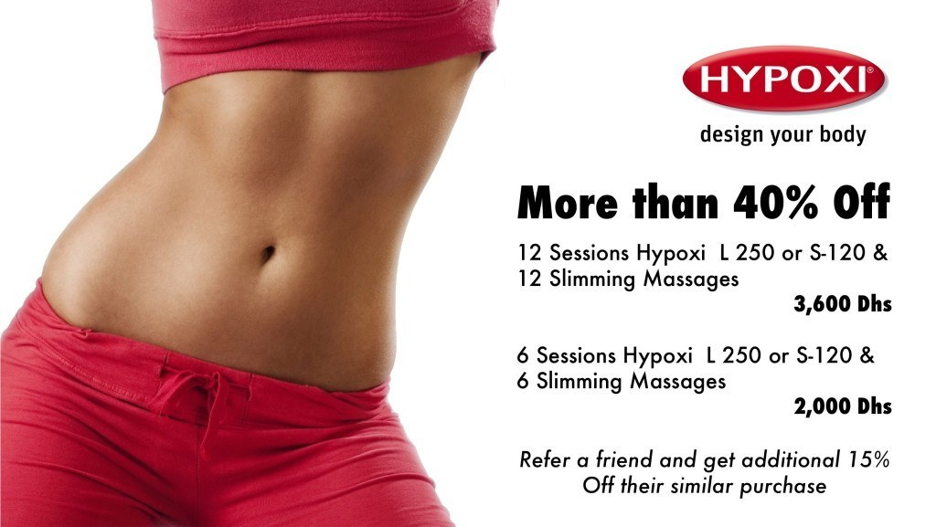 Hypoxi weight loss promotion summer