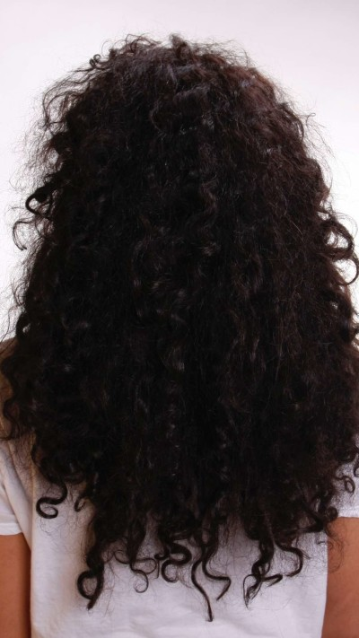 Brazilian Blowout hair keratin treatment before and after at Dubai